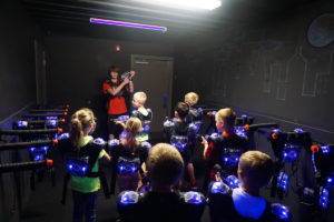 OUR SIOUX CITY LASER TAG ARENA IS PERFECT FOR BIRTHDAY PARTIES